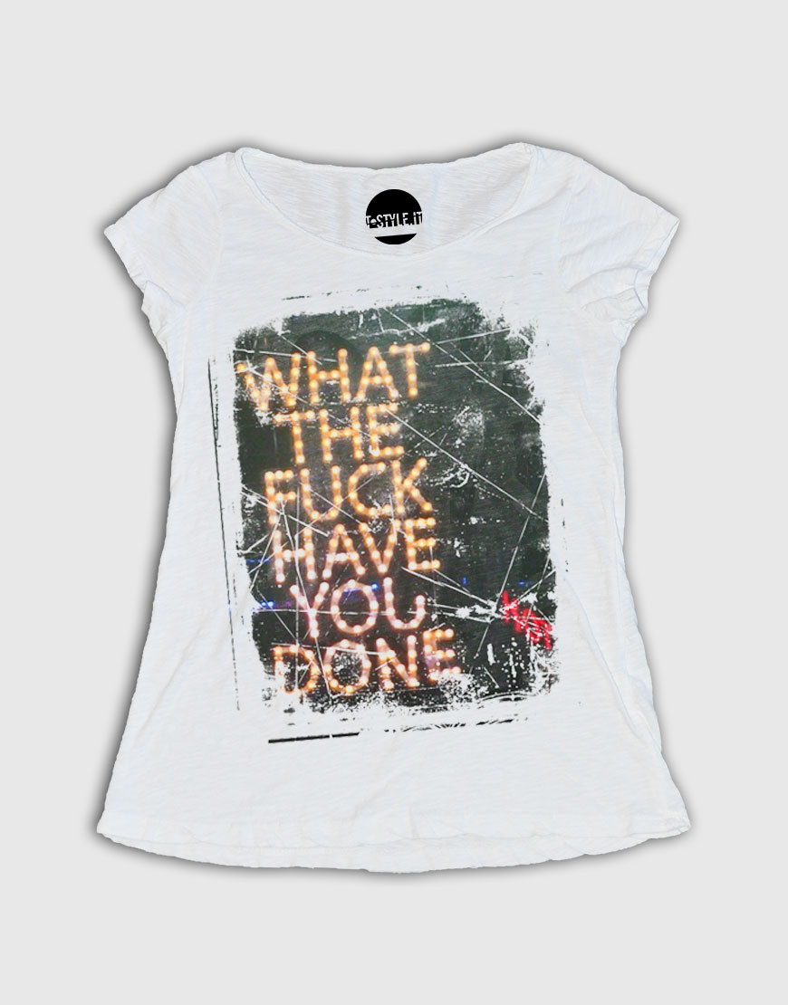 The Fuck Donna 53 T What Tstyle Art You Bianca 18 Maglietta Shirt IyY67vgfb