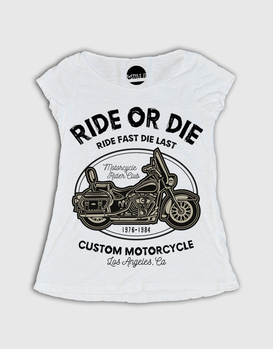 Fast Ride T Or Style Donna Shirt WEY92HDI