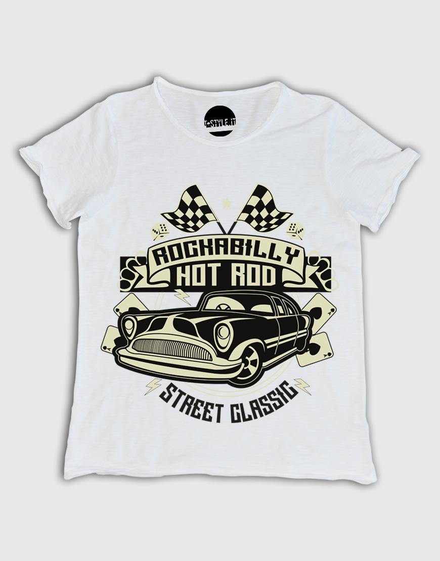 T-shirt uomo ROCKABILLY-HOTROD